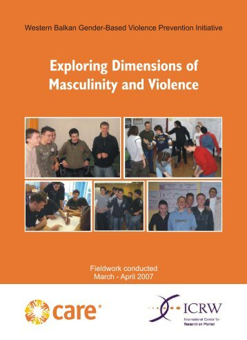 masculinity gender and violence