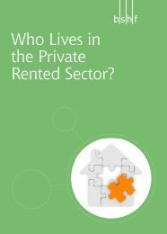 Who Lives in the Private Rented Sector? - International Union of ...