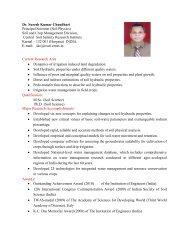Dr. S.K. Chaudhari - CSSRI Karnal