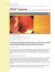 C A S E STUDY - Ovesco Endoscopy AG
