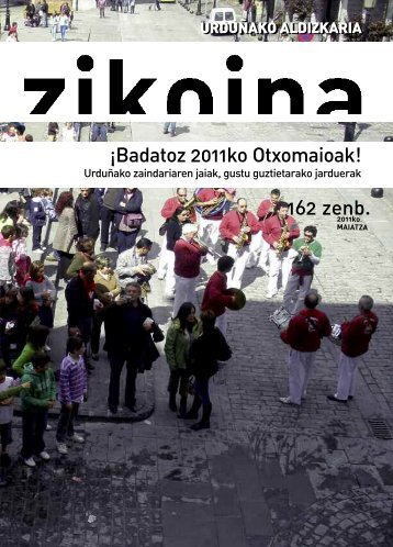 Zikoina 162. Mayo 2011 - Urduñako Udala