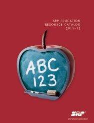 srp education resource catalog 2011–12 - Salt River Project