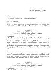 Raport bieżący nr 12/2008 - FAM Grupa Kapitałowa S.A.