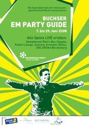 EM PARTY GUIDE - Buchs Marketing
