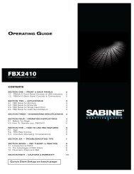 FBX2410 (.pdf) - Sabine, Inc.
