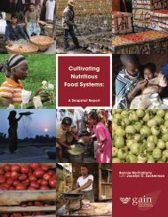 GAIN-Snapshot-Report-agriculture-nutrition-FINAL