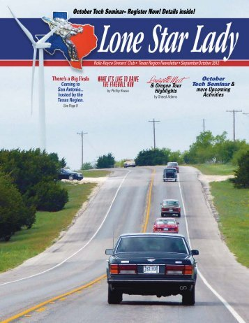 Lone Star Lady September October 2012 - Rroctexas.com