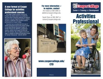 Activities Professional - Casper College