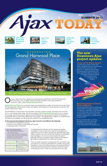 Grand Harwood Place - Town of Ajax