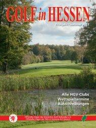 HGV-Clubs Wettspieltermine Ausschreibungen - Golf-in-Hessen.de