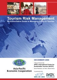 Tourism Risk Management - Sustainable Tourism Online