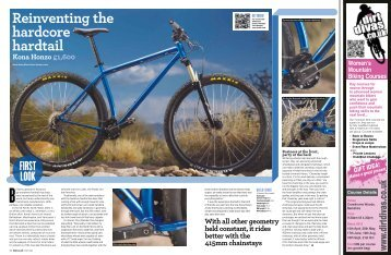 Reinventing the hardcore hardtail - Kona