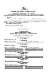 decreto nº 012/2008 de 09 de maio de 2008 homologação ... - serap