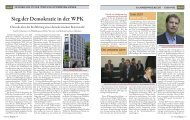 Ein Chronik über die Entstehung der Demokratie in der ... - WP.net e.V.