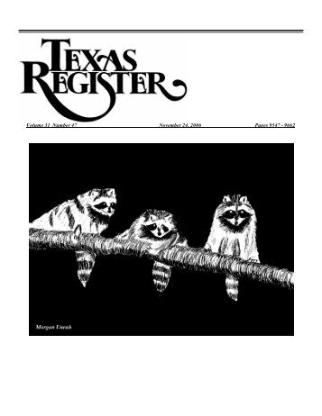 November 24, 2006 Issue - UNT Libraries Government Documents ...