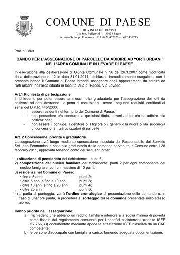 Orti urbani schema di contratto di affitto comune di jesi for Rinnovo contratto affitto