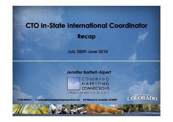 CMC In-State International Coordinator Recap 2010 [compatibility ...