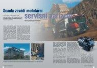 Scania zavádí modulární servisní zařízení - Kaeser Kompressoren sro