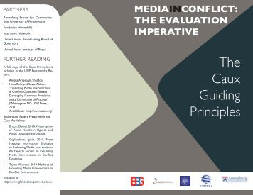 The Caux Guiding Principles - Center for Global Communication ...