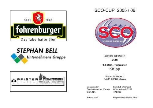 SCO-CUP 2005 / 06 - Schiclub Oberland
