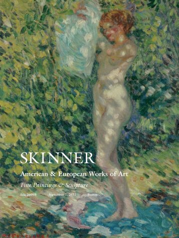 Download Catalogue 2609B: Paintings - Skinner