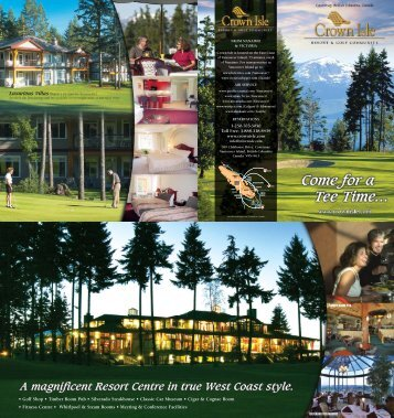 Download Corporate Brochure (pdf) - Crown Isle Resort and Golf ...