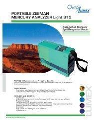 Mini Light-915 Brochure - Ohio Lumex Co.
