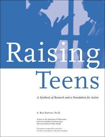Is Raising Teens Synthesis 88