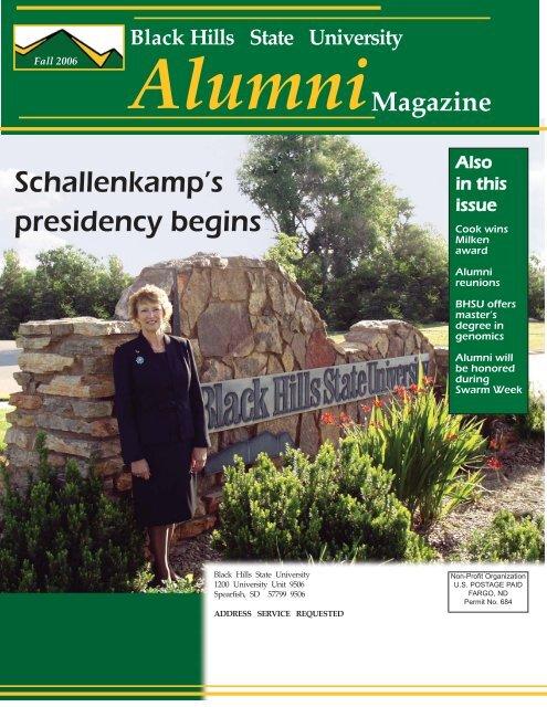 Alumni News - Black Hills State University