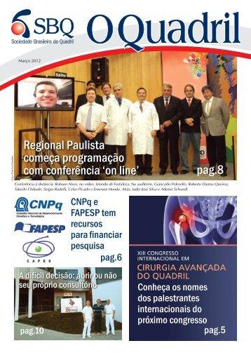 Editorial - Sociedade Brasileira de Quadril