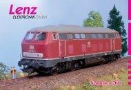 LENZ-Neuheiten 2011 - Hesse-Modellbahnen Hamburg