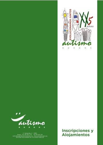 formularios inscripciones.FH11 - Autismo Burgos