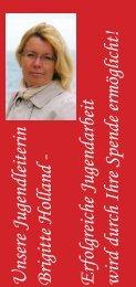 Unsere Jugendleiterin Brigitte Holland - Kirche-haarzopf.de