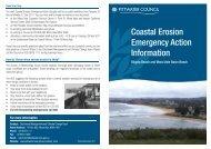 Coastal Erosion Emergency Action Information Sheet - Pittwater ...