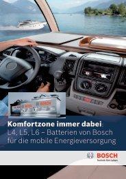 L4, L5, L6 - Bosch - Werkstattportal