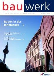 Nr. 4 / Juli 2007 - Cemex Deutschland AG