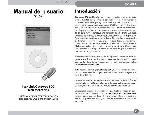 Manual del usuario - Novosonic