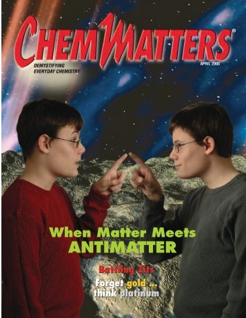 ANTIMATTER - American Chemical Society