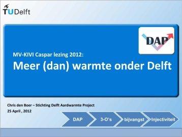 Meer (dan) warmte onder Delft