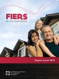 Rapport annuel 2010 de la Confédération québécoise des ...