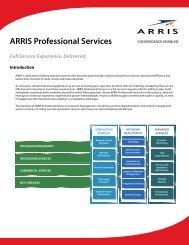 ARRIS Professional Services Solution Flyer