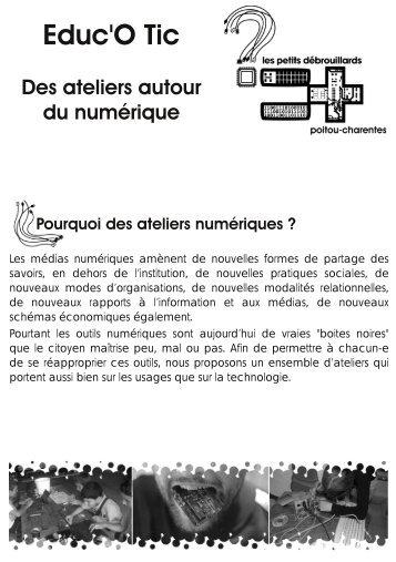 Éduc'o'TIC - Les Petits Débrouillards Poitou-Charentes