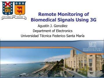 Remote monitoring of biomedical signals using 3G - Universidad ...