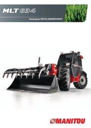 Teleskoplader für die LandwirTschafT - Rebo Landmaschinen GmbH