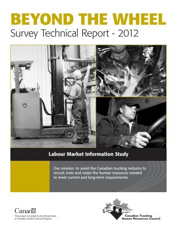 Beyond the Wheel - Survey Technical Report - Canadian Trucking ...