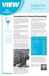Commitment to Financial Stewardship - Magazooms