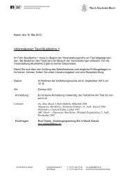Info Dispenstest ML 1-Fassung 2013.pdf - Hochschule für Musik Basel