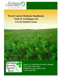 Weed Control Methods Handbook: Tools ... - Invasive.org