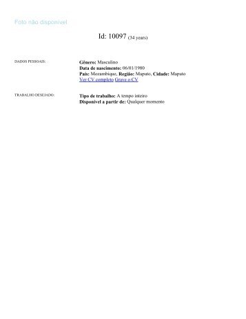 Id 37943 Curriculum Vitae