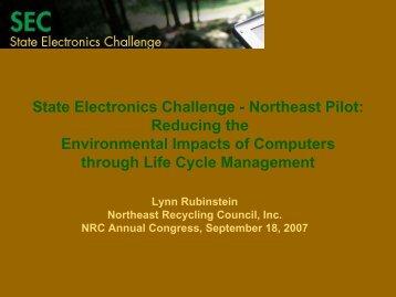 State Electronics Challenge - NERC
